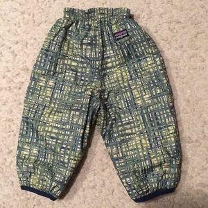 Patagonia 6 mo Baby 🔄 Puff-Ball Snow Pants. NWOT!
